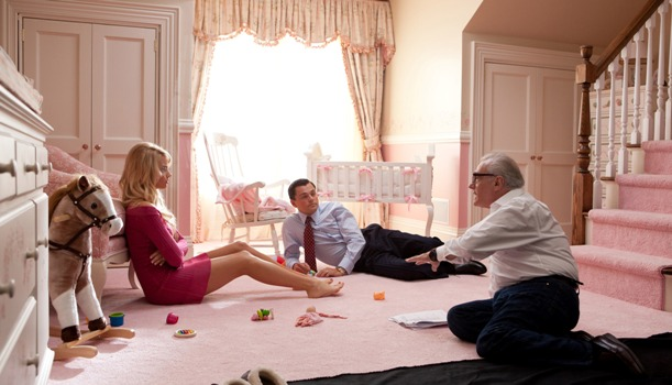 margot-robbie-leonardo-dicaprio-and-martin-scorsese-on-set-of-the-wolf-of-wall-street