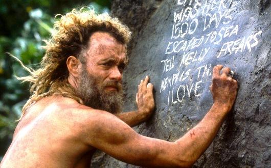 Naufrágo-passa-a-escrever-nas-pedras-da-ilha