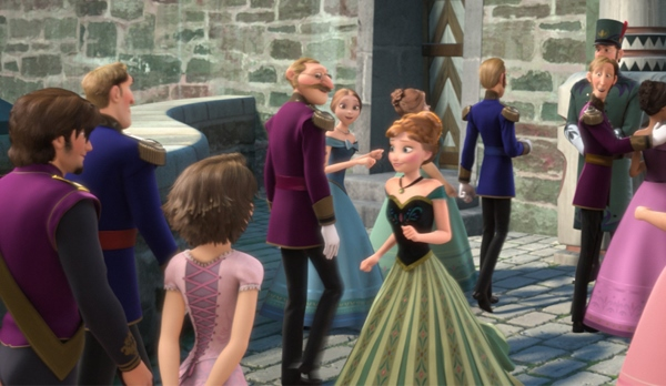 Olha Rapunzel e Flyyn aqui no cantinho
