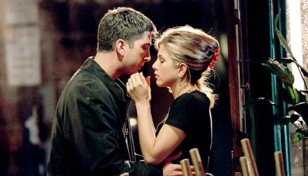 Ross e Rachel foram um dos casais mais shippados de todos os tempos