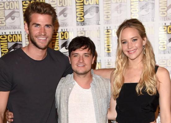 SDCC-Liam-Hemsworth-Josh-Hutcherson-Jennifer-Lawrence