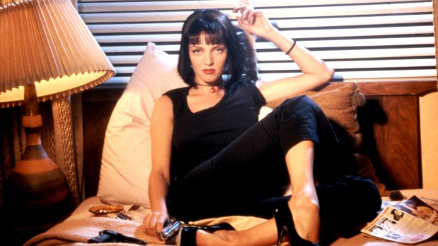 Mandatory Credit: Photo by c.Miramax/Everett / Rex Features 'PULP FICTION', Uma Thurman - 1994 'PULP FICTION' FILM - 1994 No Merchandising. Editorial Use Only STILL STILLS 563502b
