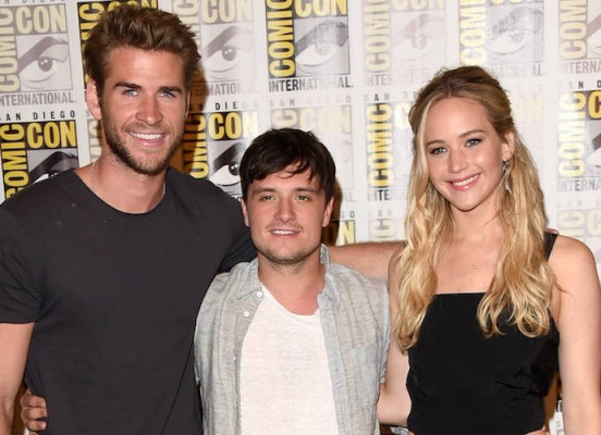 SDCC-Liam-Hemsworth-Josh-Hutcherson-Jennifer-Lawrence